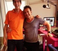 Gerard Joling bij Paradise FM