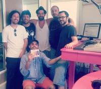 'Los Pistoleros de la Paz' in de studio!
