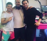 Manuel & Géza in de studio bij Paradise FM