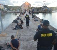 Kustwacht houdt 20 ongedocumenteerden aan bij Curaçao
