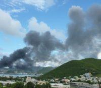 Knops belooft Sint Maarten hulp bij problemen vuilstort