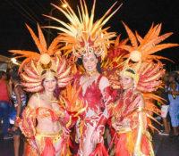 Feestelijke eind van het carnaval 2018