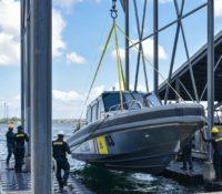 Vier nieuwe boten Kustwacht te water gelaten