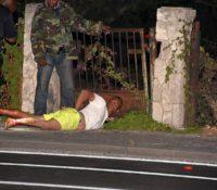 Overvaller gewond door schot politie