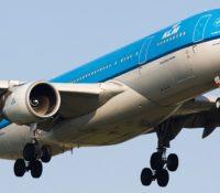 KLM vlucht vertraagd door motorproblemen