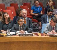 Premier Rhuggenaath spreekt bij Verenigde Naties over klimaat en veiligheid