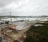 Bouw nieuwe energiecentrale Dokweg vordert gestaag