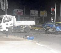 Meerdere verkeersongelukken het afgelopen weekend