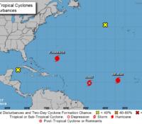 Isaac nu afgezwakt tot tropische storm