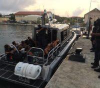 23 ongedocumenteerde Venezolanen door kustwacht aangehouden