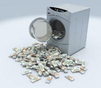 1,7 miljoen gulden gevonden in wasmachine