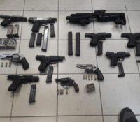41 wapens in beslag genomen in twee maanden