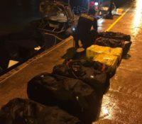 Kustwacht Aruba onderschept boot met grote hoeveelheid drugs