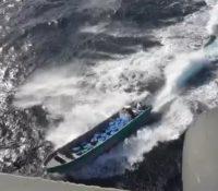 Bootje met 900 kilo cocaïne onderschept door de marine bij Aruba