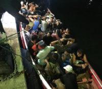 Bootje met 37 ongedocumenteerden onderschept