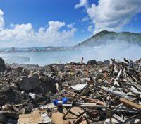 Medisch afval gewoon gedumpt op vuilstortplaats Sint Maarten