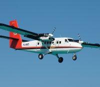 Motorproblemen bij vliegtuig Winair